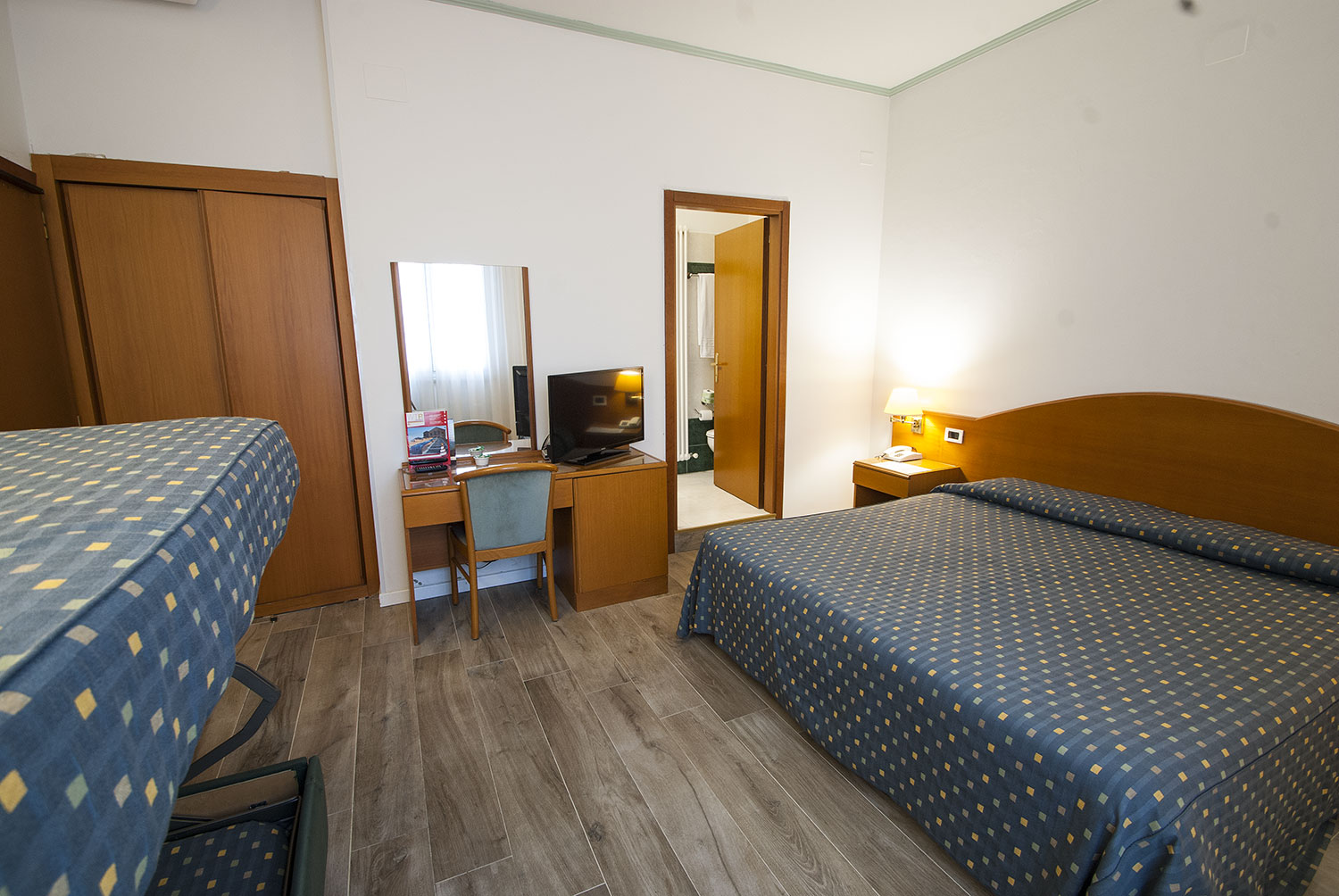 Camera Quadrupla con letto a castello