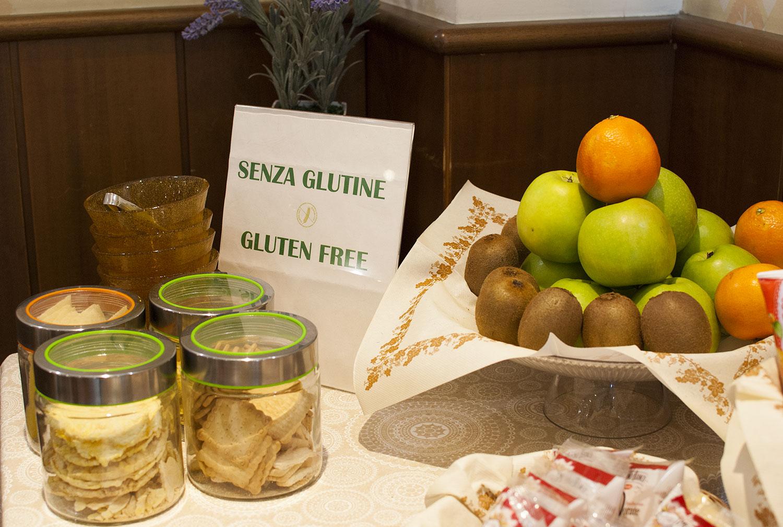corner gluten free colazione